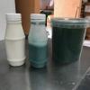 spiruline in arachide-melk