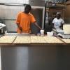 Zanga in de bakkerij