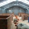 onderverdeling ruimte hangar in verschillende werkunits